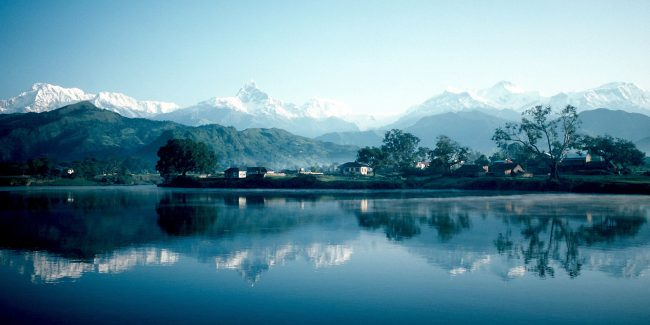 Pokhara_and_Phewa_Lake